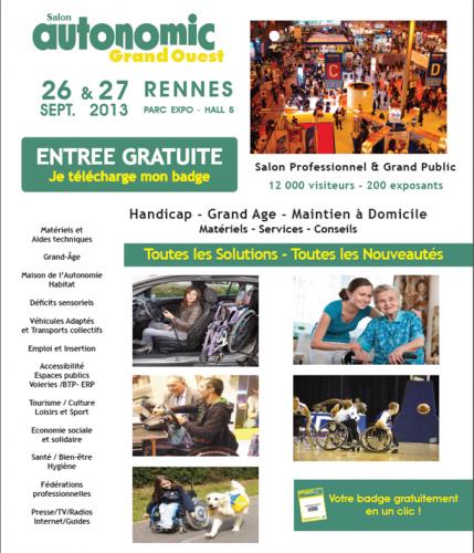 Salon, Autonomic, Rennes