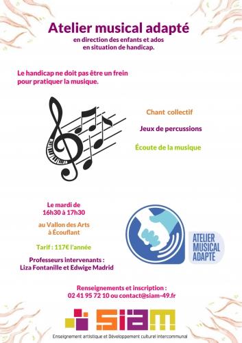 Affiche A3 Atelier Musical Adapté(.jpg